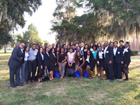 Freddye T. Davy Honors College Attendees for the 2014 NAAAHP Conference